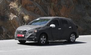 Spyshots: тече разработката на Suzuki SX4 2013