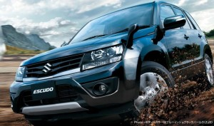 Suzuki Grand Vitara / Escudo претърпя лек фейслифт (галерия)