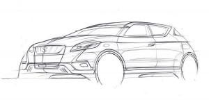 Концептуалният Suzuki S-Cross ще дебютира в Париж
