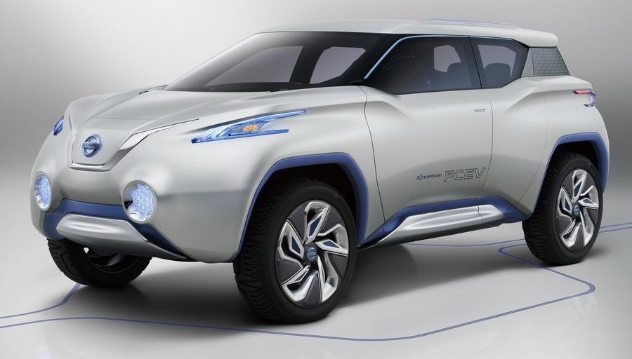 Електрическият Nissan TeRRA SUV Concept (галерия + видео)