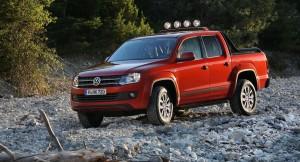 Специална серия Volkswagen Amarok Canyon 2013