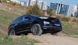 Оф-роуд шоу за дебюта на новия Hyundai Santa Fe в България (галерия)