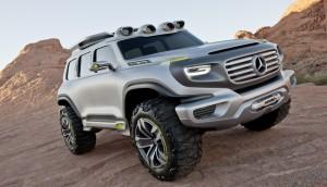 Ener-G-Force – Mercedes G от бъдещето (галерия)