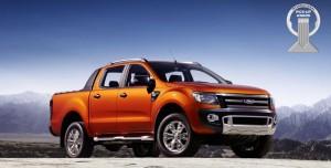 Новият Ford Ranger стана Международен пикап на 2013 година