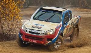 Новият Isuzu D-Max е готов за рали Дакар 2013