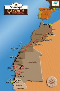 Готов е маршрутът на Africa Eco Race 2013
