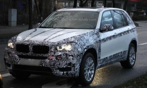 Spyshots: бъдещият BMW X5 хванат почти без камуфлаж