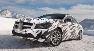 Бъдещият Mercedes CLA ще бъде с обновена система 4Matic