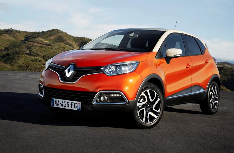 Ето го серийният кросоувър Renault Captur