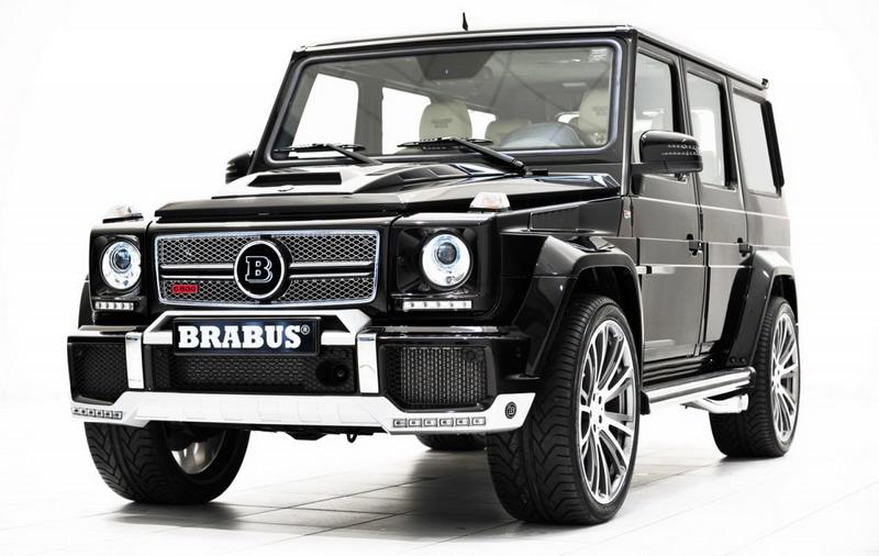Brabus Widestar 800: звяр, базиран на Mercedes G65 AMG