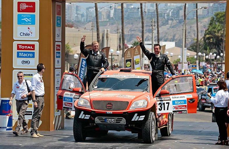 """Рали """"Дакар"""" 2013: снимки от стартовата арка в Лима"""