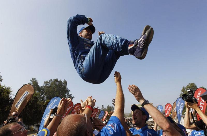 Рали Дакар 2013: подиумът в Сантяго (част 2)