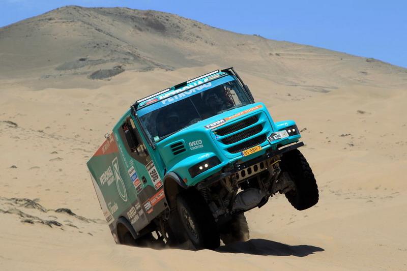 Рали Дакар 2013: снимки от етап 12, автомобили и камиони
