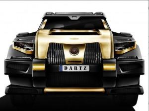 Dartz Black Snake ще атакува Китай с AMG задвижване