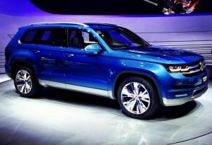 Volkswagen CrossBlue – Tiguan XL за Америка