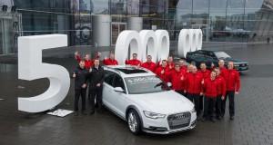 5 милиона произведени Audi с quattro задвижване