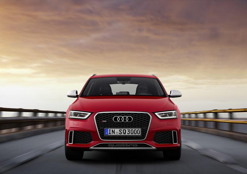 Audi RS Q3 идва с 310 конски сили (галерия + видео)