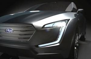 Subaru VIZIV предвещава заместника на Tribeca?