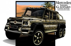 Dartz Sahara G-eopard на базата на Mercedes G63 AMG 6×6