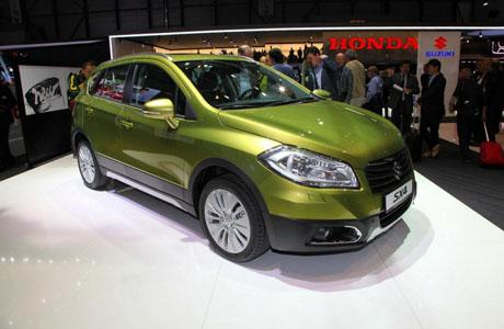 Концептът S-Cross еволюира до сериен Suzuki SX4