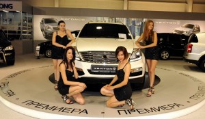 Новият SsangYong Rexton W на автомобилния салон в София
