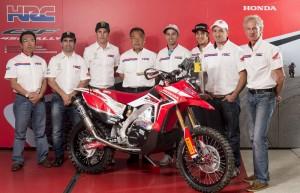 Team HRC представи пилотите си за Дакар 2014