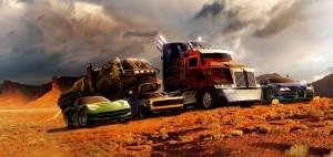 Военна оф-роуд триоска ще е нов герой в Transformers 4
