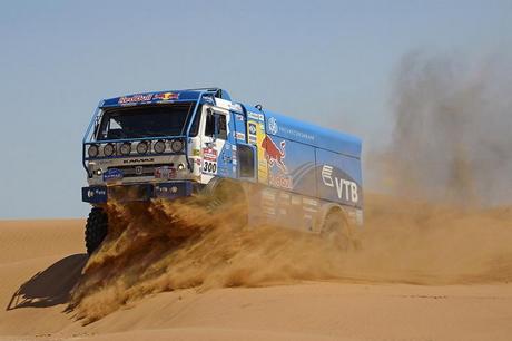 Silk Way Rally 2013: екшънът при камионите, SS1 – SS4