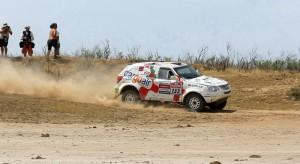 Много силен етап 5 за Ценков и Маринов на Silk Way Rally 2013