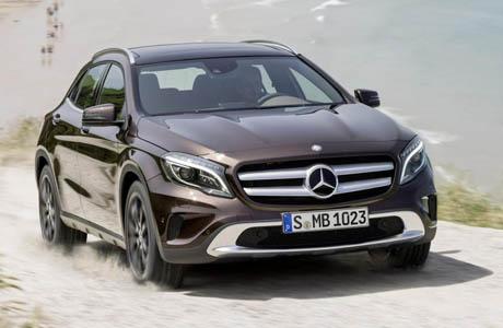 Това е серийният Mercedes-Benz GLA (снимки и видео)