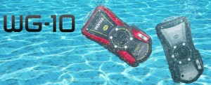 Ударо и водоустойчивият апарат Pentax WG-10 на лятна цена