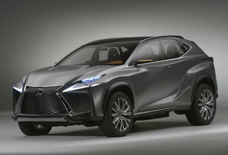 Агресивният кросоувър Lexus NF-NX скоро ще стане сериен