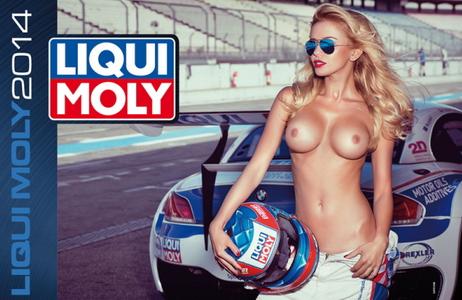 Liqui Moly ни спря дъха с еротичен календар за 2014 година (18+)