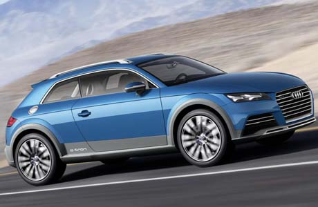 Концепцията Audi allroad Shooting Brake взриви Детройт
