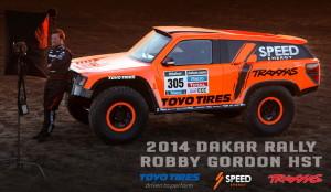 Ето го новият болид HST Gordini на Роби Гордън за Дакар 2014