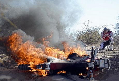 Рали Дакар 2014 брутално: катастрофи, инциденти, аварии