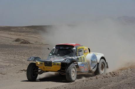 Първи кадри от етап 8 на рали Дакар 2014 – Чили