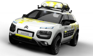 Citroen C4 Cactus Aventure и C5 Cross Tourer в Женева
