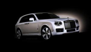 Така ли ще изглежда джипът на Rolls-Royce?