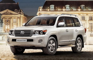 Toyota Land Cruiser 200 Brownstone за Русия