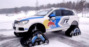 Volkswagen Snowareg се завръща, този път с WRC премяна (видео)