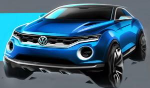 Концептуалният кабрио джип Volkswagen T-ROC идва в Женева