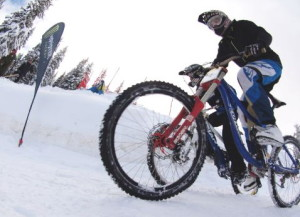 Winter Bike Duel 2014: луда снежна велонадпревара