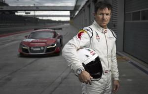 Felix Baumgartner startet im Audi R8 beim 24-Stunden-Rennen auf dem Nuerburgring