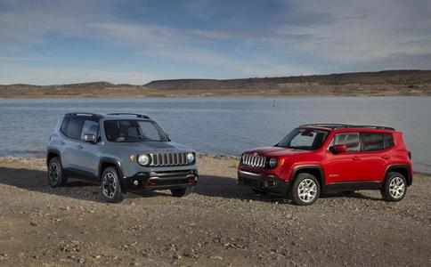 Jeep Renegade: официално и детайлно (галерия и видео)