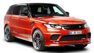 AC Schnitzer напомпа Range Rover Sport за Женева