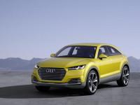 Audi TT Offroad: следваща стъпка към нов кросоувър (видео)