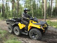 Триосното ATV Can-Am Outlander 6×6 вече е в България