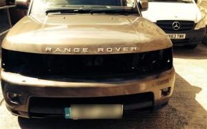 Крадат LED фарове от Range Rover, за да гледат канабис