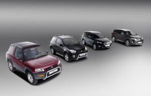 Toyota RAV4: 20 години на пазара